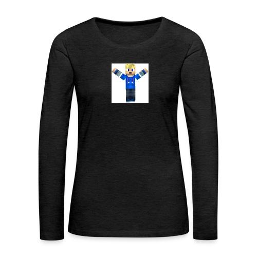 Ozzians_skin_bild - Långärmad premium-T-shirt dam