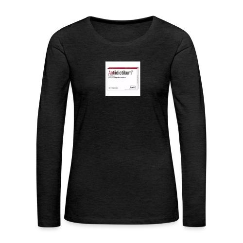 Medikament ? - Frauen Premium Langarmshirt