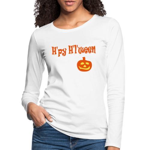 Happy Halloween - Frauen Premium Langarmshirt