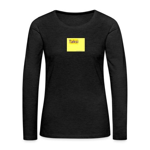 taksifoorumi - Naisten premium pitkähihainen t-paita