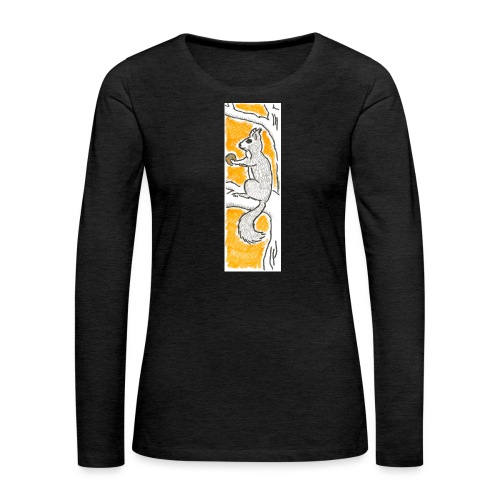 scoiattolo_alma_2015 - Maglietta Premium a manica lunga da donna