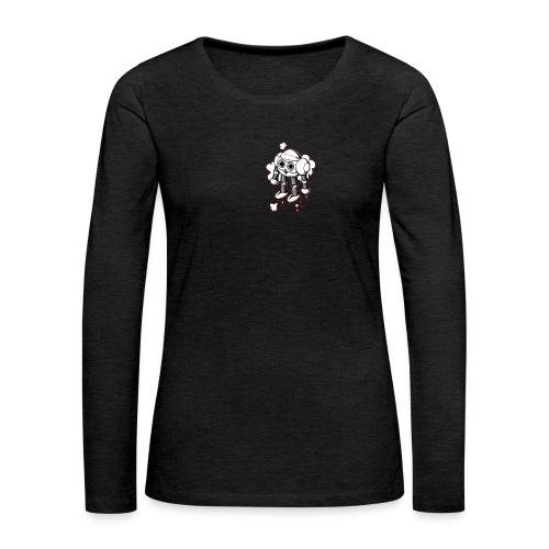 Lustiges FKinder Robot Shirt vintage Geschenkidee - Frauen Premium Langarmshirt