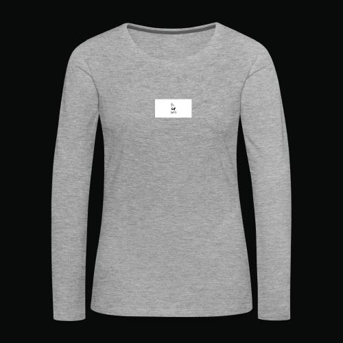 bafti long sleeve tee - Dame premium T-shirt med lange ærmer