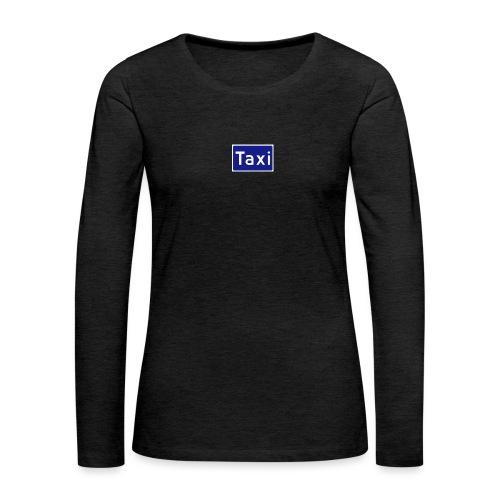 Taxi - Premium langermet T-skjorte for kvinner