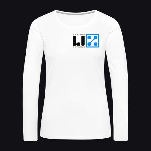 LIZ Before the Plague (Logo) - Maglietta Premium a manica lunga da donna