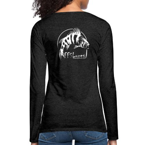 Clothing White Logo - Women's Premium Longsleeve Shirt