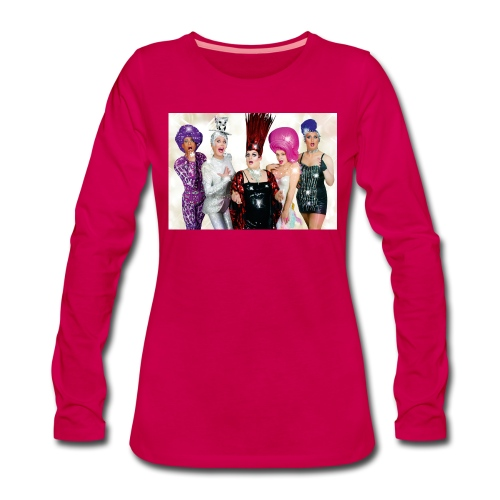 Covergirls - Frauen Premium Langarmshirt