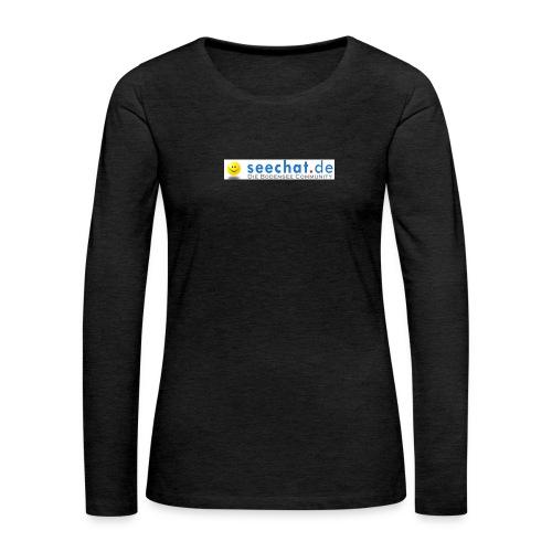 seechatdiebodenseecommunity66 - Frauen Premium Langarmshirt