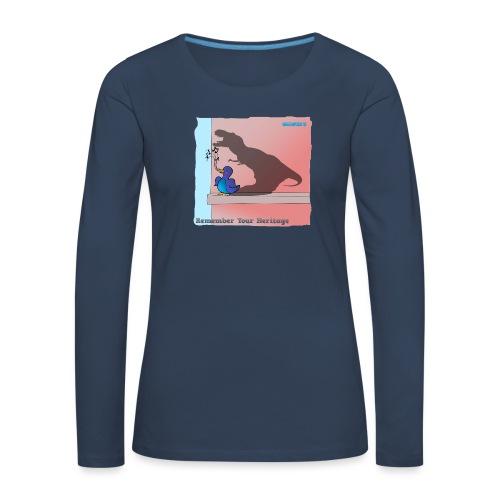 Woofra's Design Heritage - Women's Premium Longsleeve Shirt