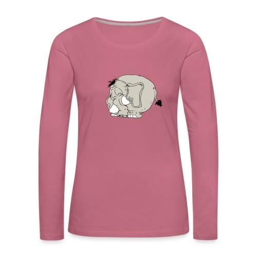 Blygofant - Långärmad premium-T-shirt dam