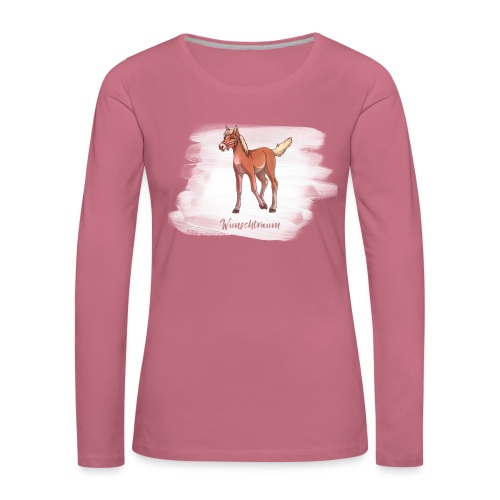 Wunschtraum - Frauen Premium Langarmshirt