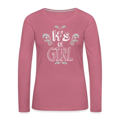 Tshirt Femme Enceinte T shirt femme - T-shirt manches longues Premium Femme