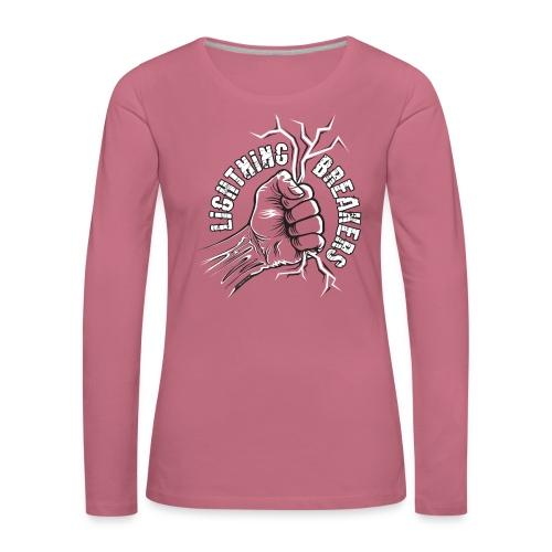 Lightning Breakers - print textiles and Gifts - Naisten premium pitkähihainen t-paita