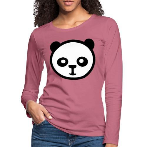Pandabär, Große Panda, Riesenpanda, Bambusbär - Frauen Premium Langarmshirt