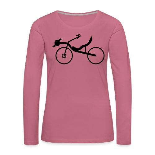 Raptobike - Frauen Premium Langarmshirt