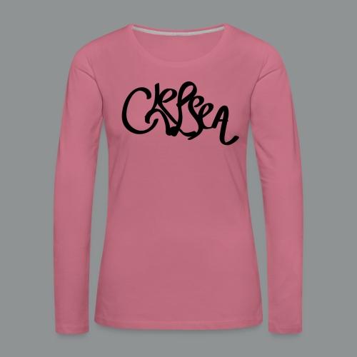 Kinder/ Tiener Shirt Unisex (rug) - Vrouwen Premium shirt met lange mouwen
