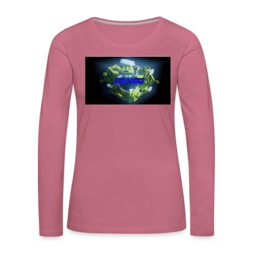 T-shirt SBM games - Vrouwen Premium shirt met lange mouwen