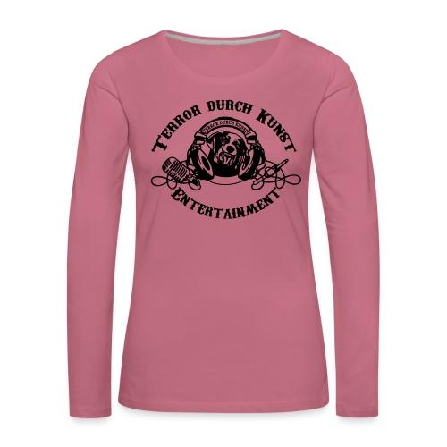 tdklogoschwarz 3 - Frauen Premium Langarmshirt