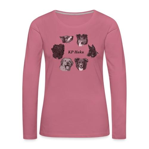Tintti - Naisten premium pitkähihainen t-paita