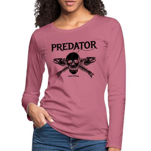 gone fishing norge - Frauen Premium Langarmshirt