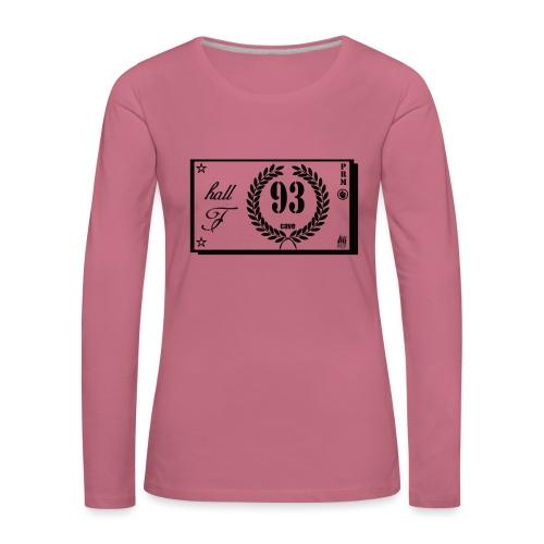 prm hall f - T-shirt manches longues Premium Femme