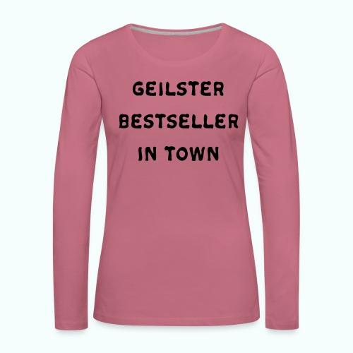 BESTSELLER - Frauen Premium Langarmshirt