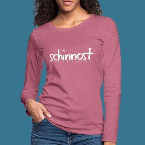 Schinnoost PINK Kollektion - Frauen Premium Langarmshirt