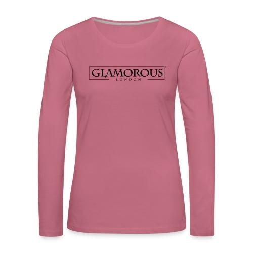Glamorous London LOGO - Women's Premium Longsleeve Shirt