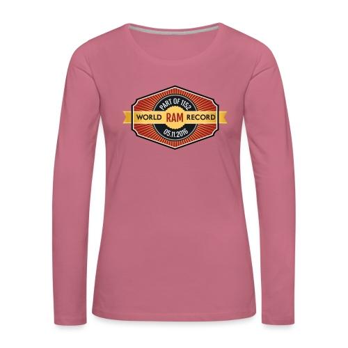 Nappo - Frauen Premium Langarmshirt