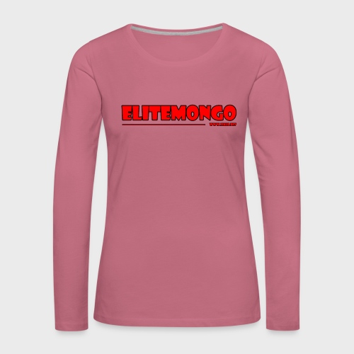 Elitemongo - Frauen Premium Langarmshirt