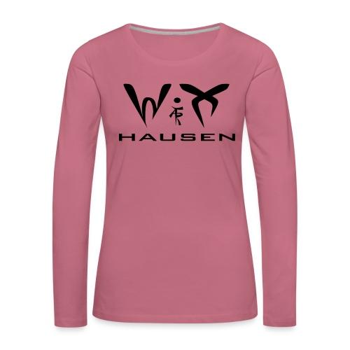 wixhausen - Frauen Premium Langarmshirt