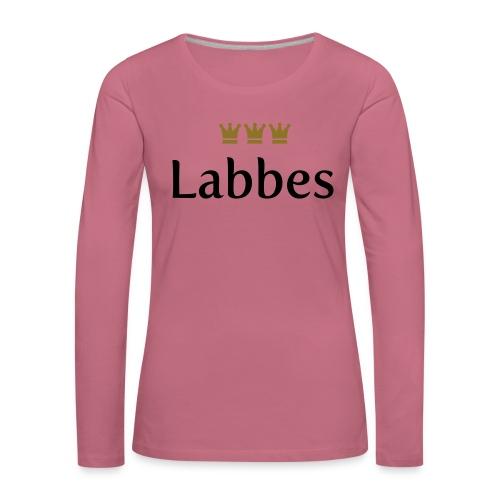 Labbes (Köln/Kölsch/Karneval) - Frauen Premium Langarmshirt