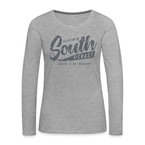 South Coast Sea surf clothes and gifts GP1305B - Naisten premium pitkähihainen t-paita