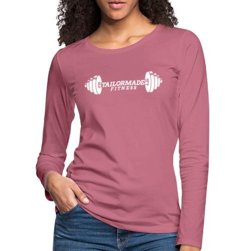 White logo! - Women's Premium Longsleeve Shirt
