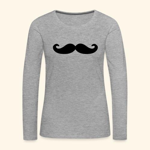 Loco Moustache - Vrouwen Premium shirt met lange mouwen