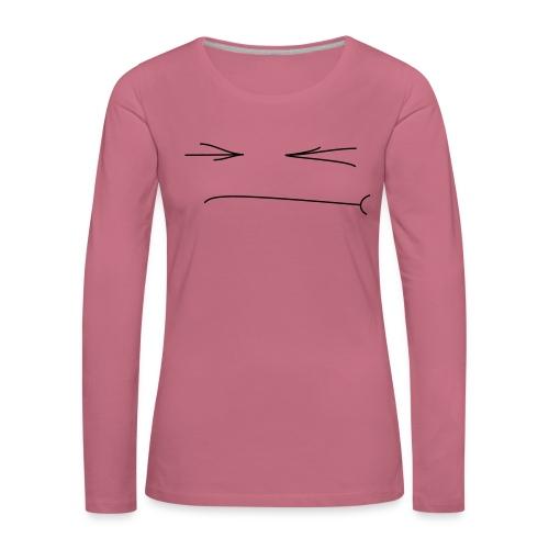 Gepfetzt - Frauen Premium Langarmshirt