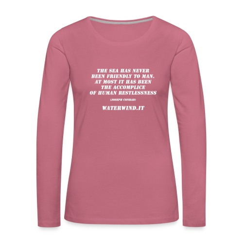 Conrad EN bianco - Women's Premium Longsleeve Shirt