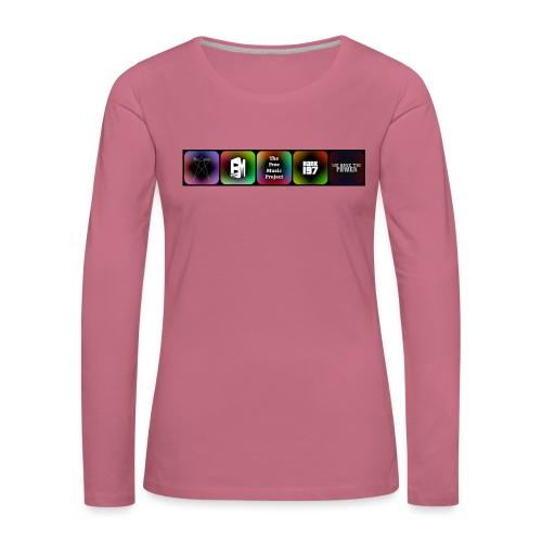 5 Logos - Women's Premium Longsleeve Shirt