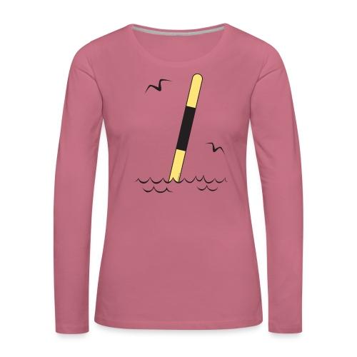 FP25 LÄNSIVIITTA Merimerkit funprint24 net - Naisten premium pitkähihainen t-paita