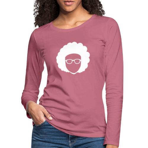 Afro Nerd - nerdy - Women's Premium Longsleeve Shirt