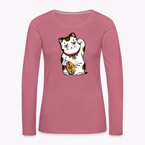 Love Lucky Cat - Women's Premium Longsleeve Shirt