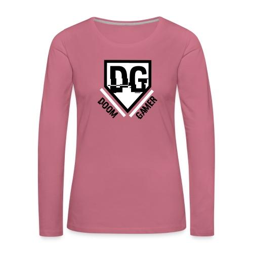 Doomgamer rugzak - Vrouwen Premium shirt met lange mouwen