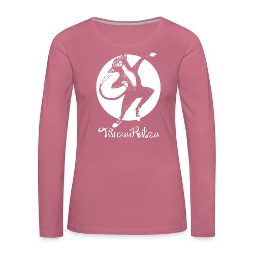 TanzeKatze - Frauen Premium Langarmshirt