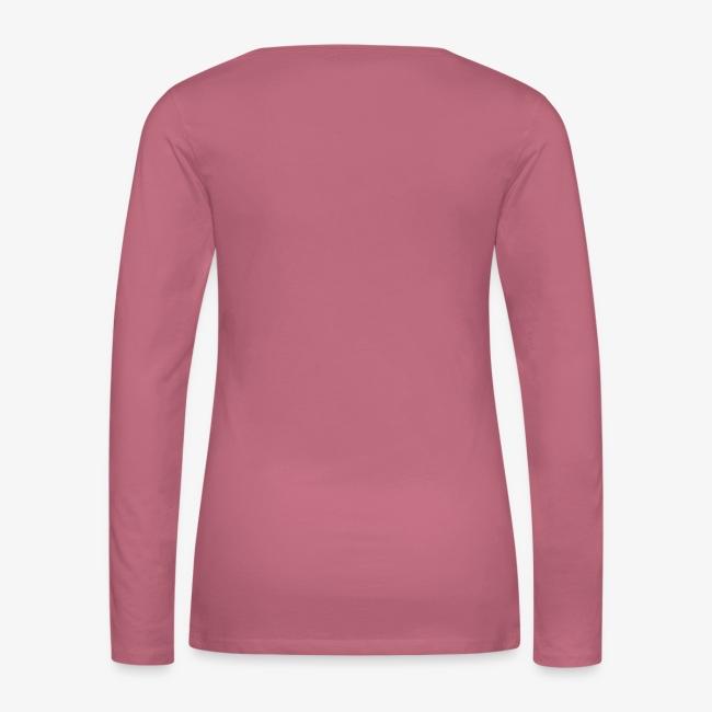 Vorschau: Glück Pferd - Frauen Premium Langarmshirt