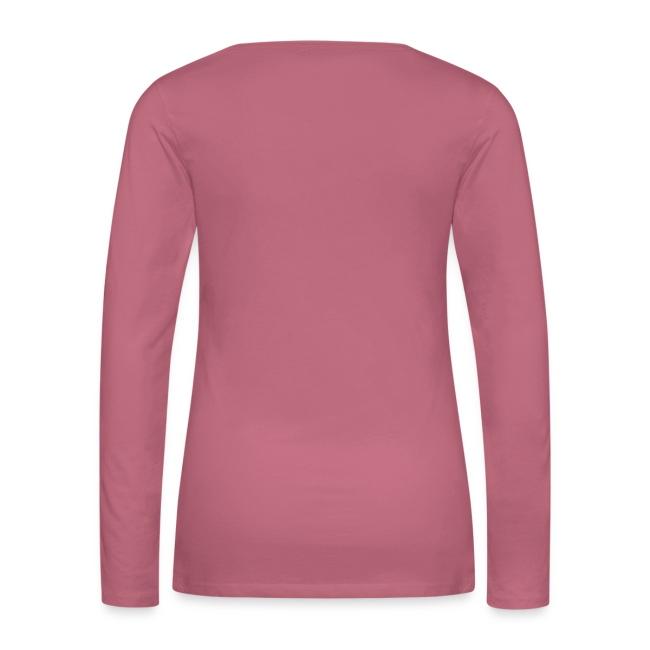 Vorschau: irgendwos hods oiwei - Frauen Premium Langarmshirt