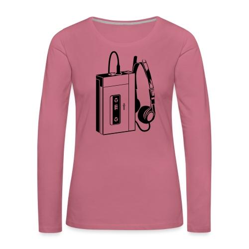 WALKMAN - T-shirt manches longues Premium Femme