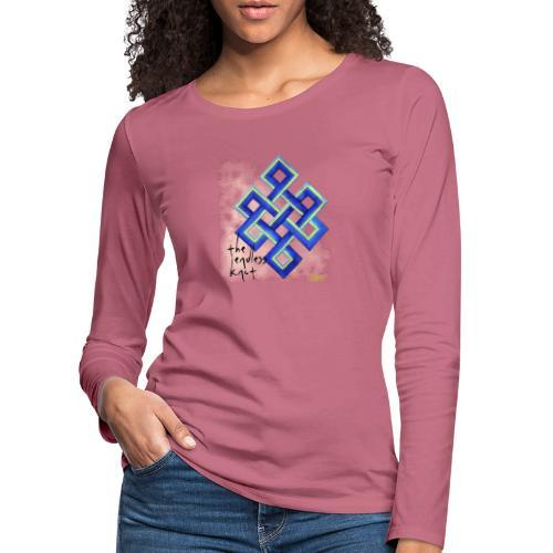 endless knot - Camiseta de manga larga premium mujer