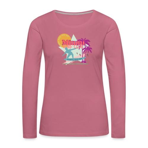 Miami Surf Club - Women's Premium Longsleeve Shirt