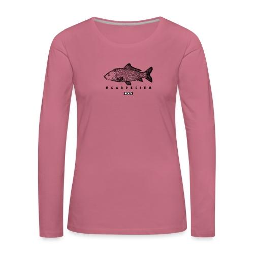 #EASY Carpe Diem T-Shirt - Maglietta Premium a manica lunga da donna
