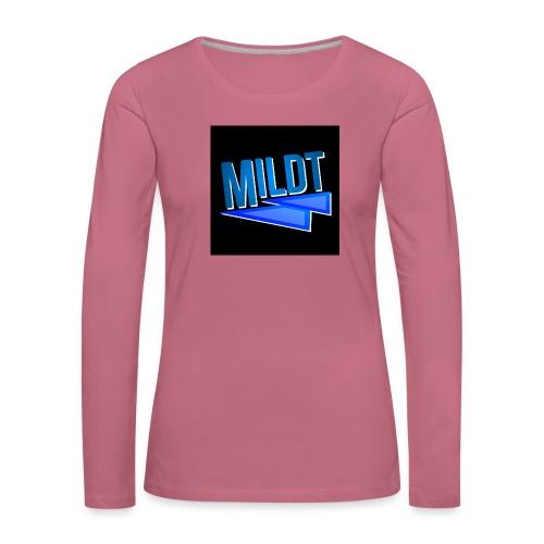 MILDT Muismat - Vrouwen Premium shirt met lange mouwen